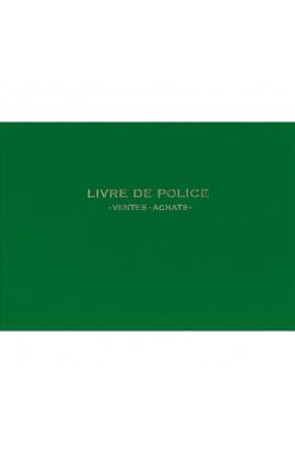 Livre de police pour achats/ventes