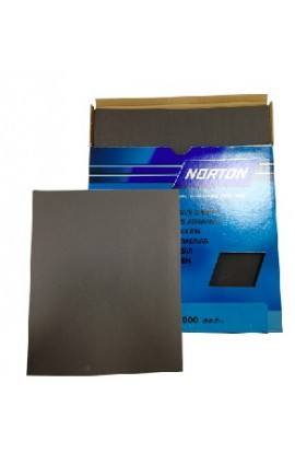 Abrasif papier Norton, feuille, grain 2000