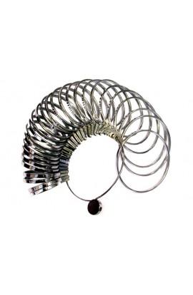 Metal bracelet sizer