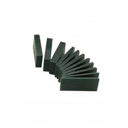 Green wax block for modeling in strip