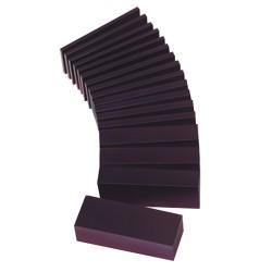Bloc de cire à sculpter violet en lamel