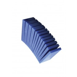 Blue wax block for modeling in strip