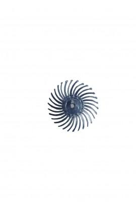 Disque soleil bleu prépolissage