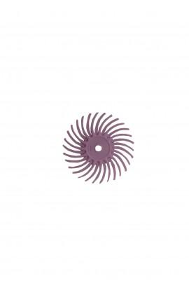Disque soleil violet très fin