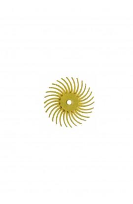 Disque soleil jaune gros
