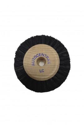 Brosse circulaire B, 2 rangs, 60mm, soie noire