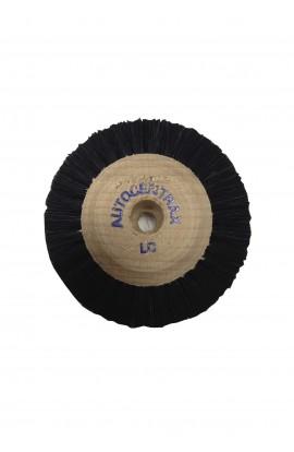 Brosse circulaire B, 3 rangs, 60mm, soie noire