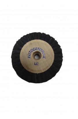 Brosse circulaire B, 4 rangs, 60mm, soie noire
