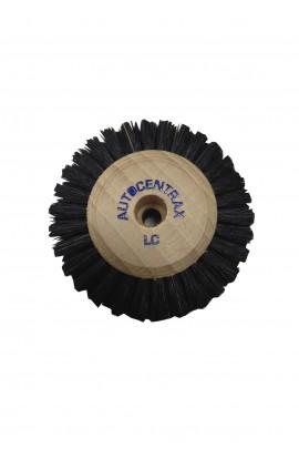 Brosse circulaire B, 5 rangs, 60mm, soie noire