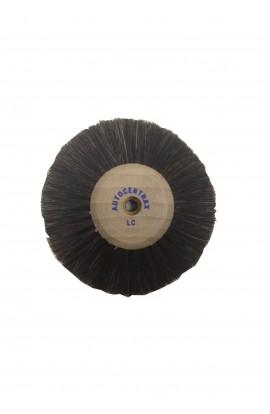 Brosse circulaire B, 5 rangs, 90mm, soie noire
