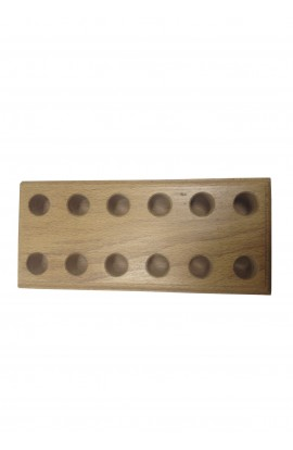 Support en bois pour 6 pinces