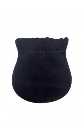 Pochette ovale GM noir