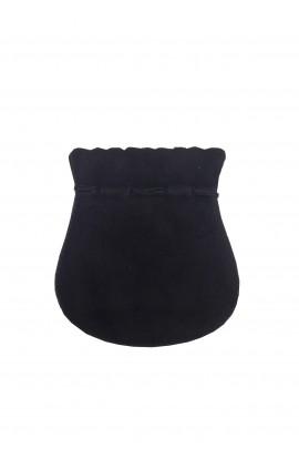 Pochette ovale MM noir