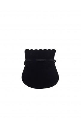 Pochette ovale PM noir