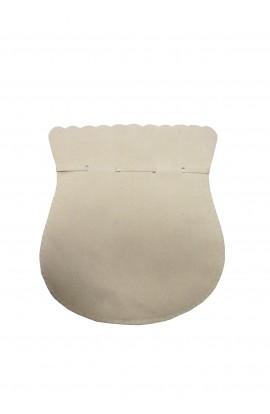 Pochette ovale GM beige