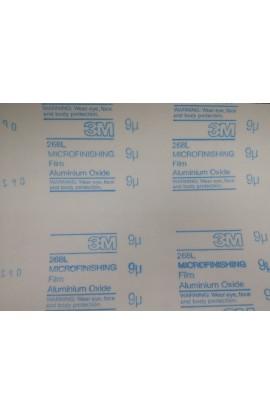 3M abrasive self adhesive paper sheet, 9 micron