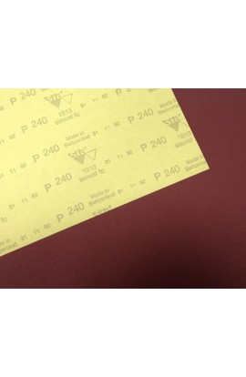 SIA abrasive paper sheet, 180