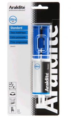 ARALDITE blue glue syringe 24ml