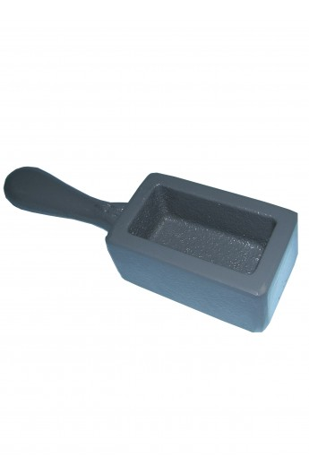 Strip ingot mould with handle for 1kg