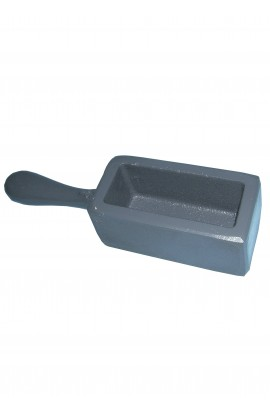 Strip ingot mould with handle for 1.850kgs