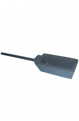 Strip ingot mould with handle for 2.700 kgs