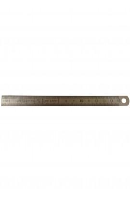 Steel ruler inox 15cm