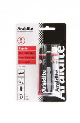 Colle ARALDITE rouge tube 30ml