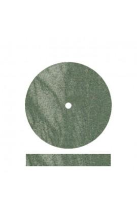 Meulette verte caoutchouc 22mm
