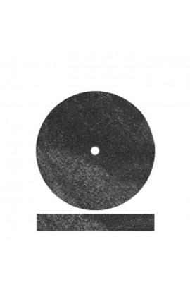 Meulette noir caoutchouc 22mm