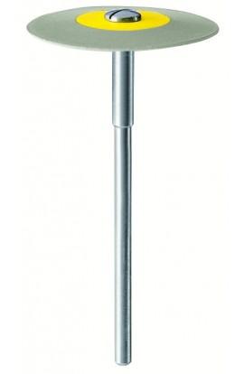 Lentille diamantée bicolore grise EVE 2mm