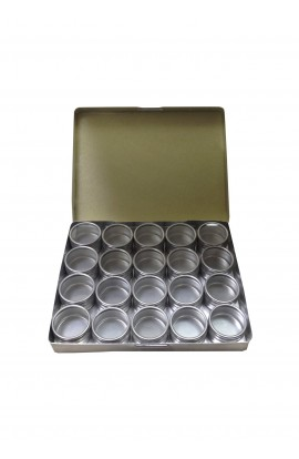 Coffret aluminium de 20 boites