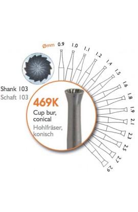 Fraise creuse 469K 0.9mm