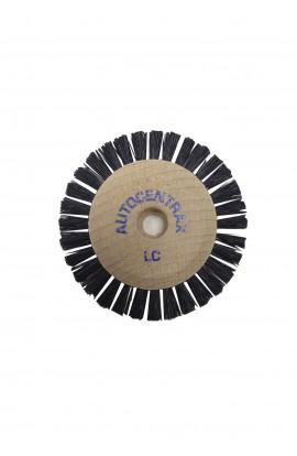 Brosse circulaire B, 1 rang, 50mm, soie noire