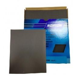 Abrasif papier Norton, feuille, grain 1000