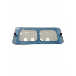 Plaque binoculaire Optivisor 2.50x