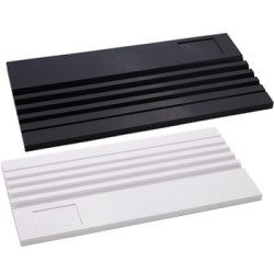 Black Plastic Bead Board