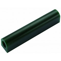 Green wax flat-sided tube T-200