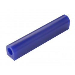 Blue wax flat-sided tube T-200