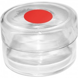 Electrolyte jar red base