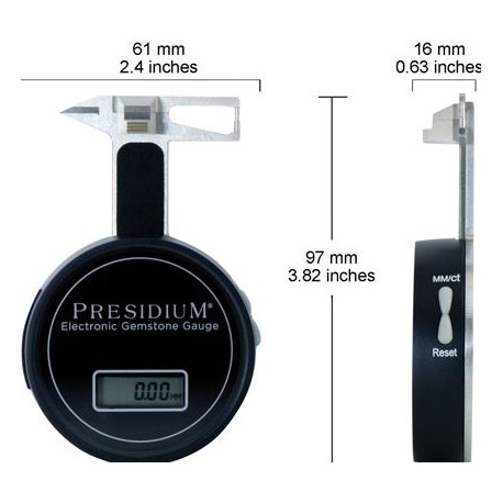 PRESIDIUM® electronic gauge