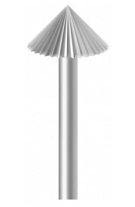 Fraise chapeau chinois acier P 1.25